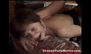Granny pounding younger tasty dick xVideos