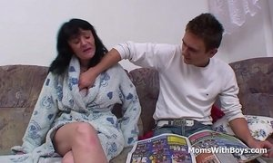 Busty Mother Fucking Son's Cock xVideos