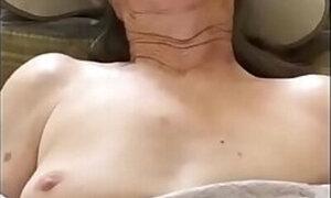 Wrinkly granny legitimately cums during hardcore sex