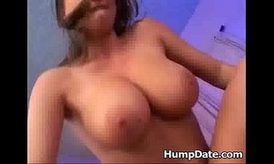 Busty Sara Stone gets her horny pussy nailed
