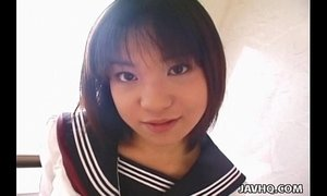 Pretty Japanese schoolgirl cumfaced uncensored xVideos