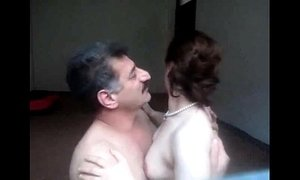 Arab Aunty sucked n fucked by hubby wid loud moaning
