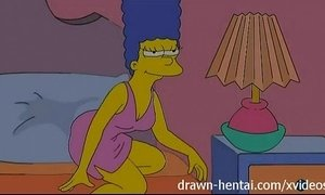 Lesbian Hentai - Lois Griffin and Marge Simpson xVideos