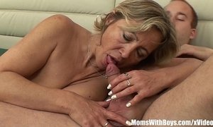 A Mature Napping Beauty In Stockings Fucked By Stepson xVideos