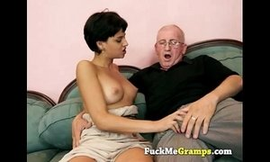 the old man can teach her xVideos