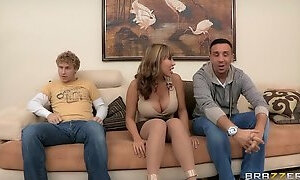 Large-tit mother Id like to fuck Ava Devine acquires double permeated