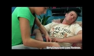 Tired Stepbro's Dick Deep Sucks By Horny Stepsister xVideos