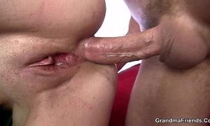 Mature bitch gets her throat and ass banged xVideos