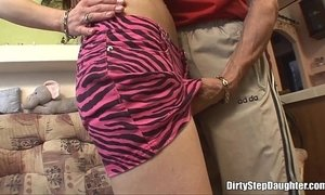 Punk Stepdaughter Fuck By Her Tattooed Stepfather xVideos