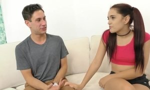 Teen Stepdaughter Charity Crawford Fucks her Stepdad AnalDin