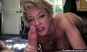 Blowjob and ballsucking by religious Mom xVideos