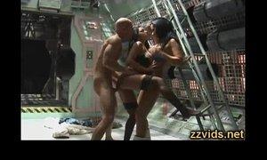 Audrey Bitoni threesome fucking xVideos