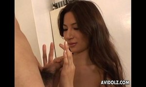 Horny Anri Suzuki pleasuring cock here xVideos