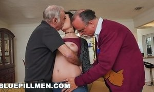 BLUE PILL MEN - Over 150 years of dick, all for Sydney Sky xVideos