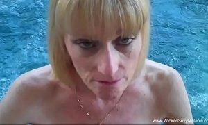 Granny bj from the pool xVideos