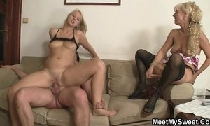 GF gets her pussy licked and fucked by his parents xVideos