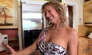 Matured Jade Jamison likes taking monster cocks hardcore