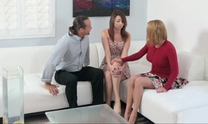 Sex talk from her parents Beeg
