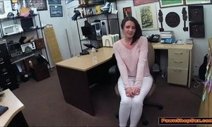 Lady wants the pawnshop owners big cock and gets facefucked xVideos