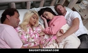DaughterSwap - Daughters Fucked During Sleepover xVideos