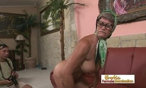 Hot granny is always in the mood for a hardcore fuck xVideos