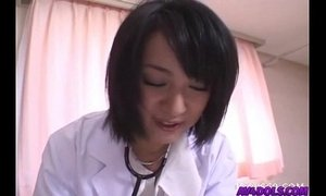 Horny doctor Shinobu Mizushima gets banged by her patient and facial xVideos