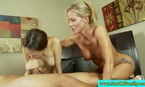 Real stepmom and stepdaughter gives hj xVideos