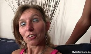 Granny fucks her daughter's BF and GF watches xVideos