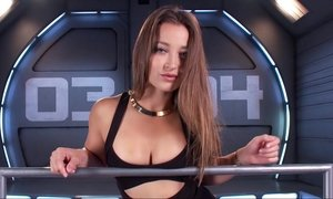 Amazing babe Dani Daniels and the machine Beeg