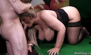 Hottest chubby blonde in black stockings xVideos