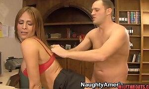 Latin housewife intercourse with man milk on fun bags