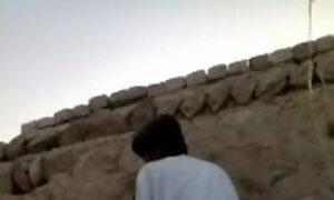 Pakistani village girl fucking hiding against wall segment
