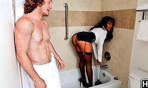 Jenna J Foxx & Brick Danger in Room Service - BigNaturals