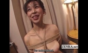 Japanese wife extreme rope bondage vibrator play Subtitles xVideos