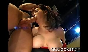 Sexy oriental getting sated cumshots xVideos