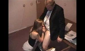 Teen secretary fuck