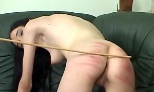 Brunette mistress likes nothing more than punishing a friend