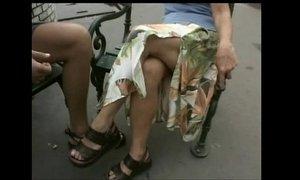 Der grosse Oma-Test hairy Ibolya outdoor xVideos