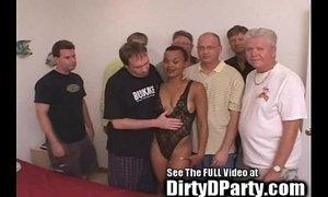 Hot Ebony Kaitlyn's 7 White Cock Bukkake Gangbanging xVideos