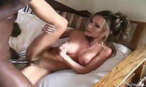 Snazzy busty mature woman acting in amazing BJ scene