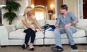 Hot mom sex video featuring Bradley Remington and Amber Lynn