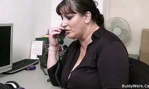 Fat secretary blowjob and office fuck xVideos